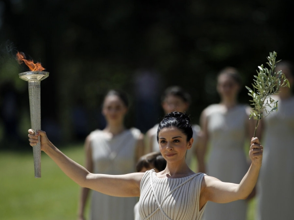 Olympic Flame Ceremony